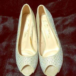 Very elegant evening shoes